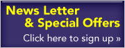 Scully Newsletter and Special offers signup